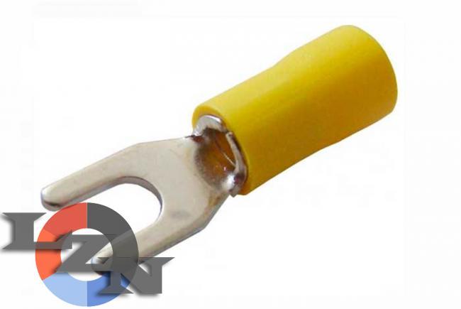 Фото наконечников вилочных с изоляцией SV 5